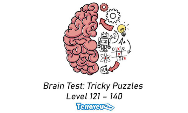 Brain Test Tricky Puzzles level 121- 140