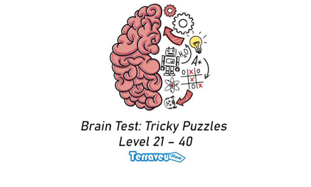 Brain Test Tricky Puzzles level 21 - 40